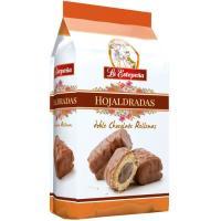 Hojaldradas de doble chocolate LA ESTEPEÑA, bolsa 310 g