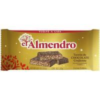Turrón crujiente EL ALMENDRO, tableta 250 g