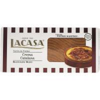 Turrón de crema catalana LACASA, caja 225 g