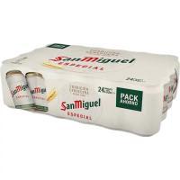 Cerveza SAN MIGUEL, pack lata 24x33 cl