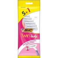 Maquinilla desechable woman Twin BIC, pack 5+1 uds