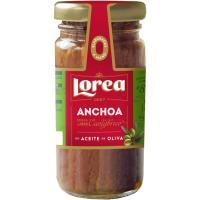 Anchoa del Cantabrico en aceite de oliva LOREA, frasco 55 g