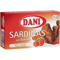 Sardinilla en tomate DANI, lata 90 g