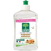 Lavavajillas conc. eco almendra LÁRBRE VERT, botella 500 ml