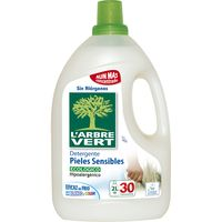 Detergente líquido eco. piel sens. L'ARBRE V., garrafa 30 dosis