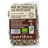 Mix pipa-fruto seco eco VERITAS, bolsa 150 g