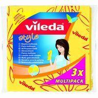 Bayeta amarilla Style VILEDA, pack 3 unid.