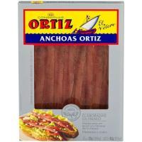 Anchoas en aceite de oliva ORTIZ, lata 40 g