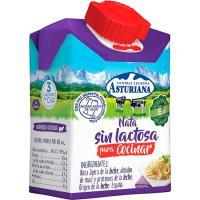 Nata para cocinar sin lactosa ASTURIANA, botellín 200 ml