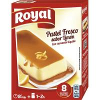 Pastel fresco de limón ROYAL, caja 103 g