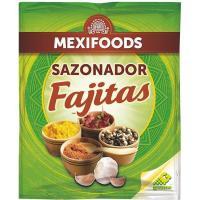 Sazonador para fajitas MEXIFOODS, paquete 30 g