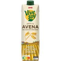 Bebida de avena PASCUAL Vivesoy, brik 1 litro