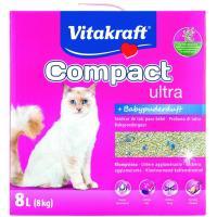 Arena aglomerante con silice gato VITAKRAFT, caja 8 kg
