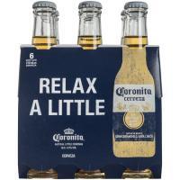 Cerveza CORONITA, pack botellín 6x21 cl
