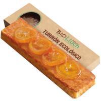 Turrón de yema con naranja BIOLLUCH, tableta 200 g