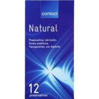 Preservativo natural CONTACT, caja 12 unid.