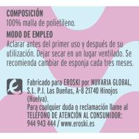 Esponja flor BELLE, pack 1 ud