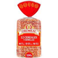 Pan de molde 12 cereales-semillas OROWEAT, paquete 680 g