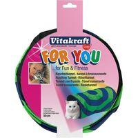 Tunel susurrante para gato VITAKRAFT, pack 1 unid.