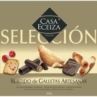 Surtido de galletas CASA ECEIZA, caja 200 g