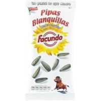 Pipas blanquillas FACUNDO, bolsa 150 g