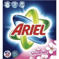 Detergente en polvo ARIEL Sensaciones, maleta 40 dosis