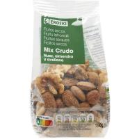 Mix de frutos secos crudos EROSKI, bolsa 150 g
