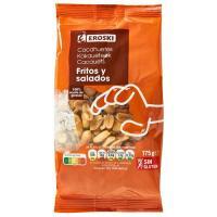 Cacahuetes repelados fritos EROSKI, bolsa 175 g