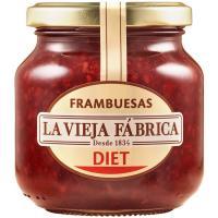Mermelada de frambuesa LA VIEJA FABRICA Diet, frasco 280 g