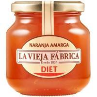 Mermelada naranja LA VIEJA FABRICA Diet, frasco 290 g
