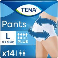 Pants de incontinencia plus Talla L TENA, paquete 14 uds