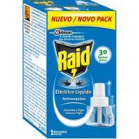 Insecticida eléctrico 30 noches RAID, recambio 1 ud.