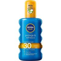 Protector solar FP30 NIVEA Protege&Rrefresca, spray 200 ml