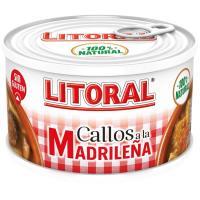 Callos a la madrileña LITORAL, lata 380 g