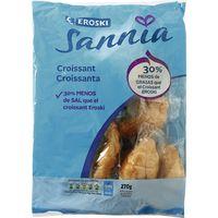 Croissants EROSKI Sannia, 9 unid., paquete 270 g