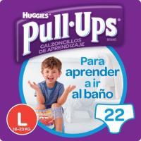 Pull Ups niño 16-23 kg Talla 6 HUGGIES, paquete 22 unid.