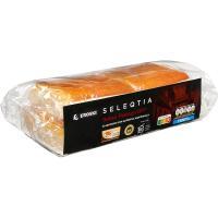 Sobao pasiego 100% mantequilla Eroski SELEQTIA, paquete 4 unid.