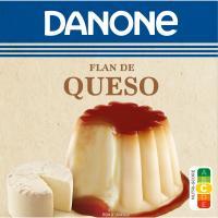 Flan de queso DANONE, pack 4x100 g