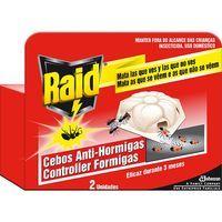 Cebo para hormigas RAID, pack 2 unid.