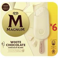 Bombón blanco MAGNUM, 6 uds., caja 474 g