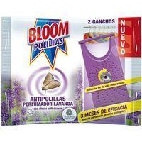 Gancho antipolillas de lavanda BLOOM, pack 2 unid.