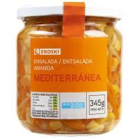Ensalada mediterránea EROSKI, frasco 245 g