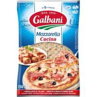 Queso rallado Mozzarela GALBANI, bolsa 150 g
