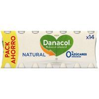Danacol para beber natural DANONE, pack 14x110 ml
