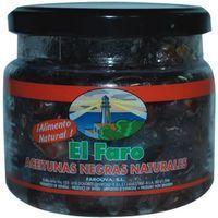 Aceitunas negras al natural FARO, frasco 280