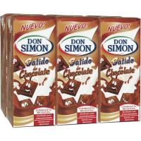 Batido de chocolate DON SIMON, pack 6x200 ml