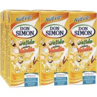 Batido de vainilla DON SIMON, pack 6x200 ml