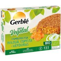 Hamburguesa bulgur-espelta-verduras GERBLÉ BIO, caja 200 g