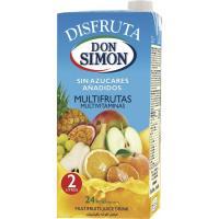 Néctar multivitaminas DON SIMON Disfruta, brik 2 litros