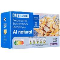 Berberechos pequeños EROSKI, lata 63 g